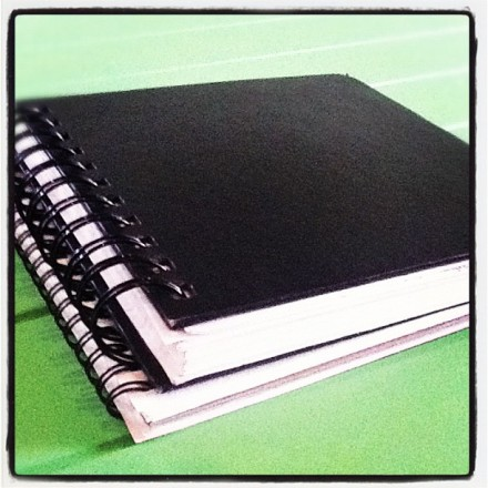 Sketchbooks (Photo/Joanna Nasar, CATinWATER)